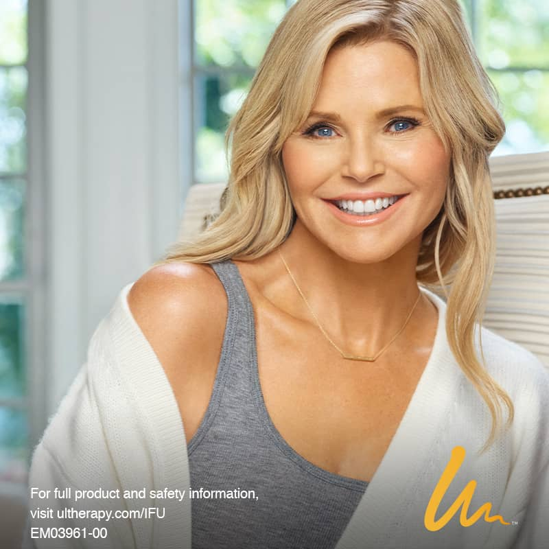 Christy loves Ultherapy